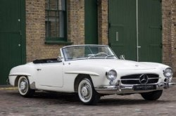 "The almost ""impossible to steal"" vintage Mercedes car of the 1960s"