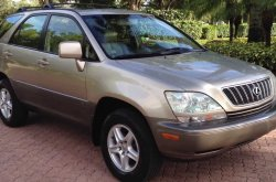 Lexus RX 300 price in Nigeria & detailed review