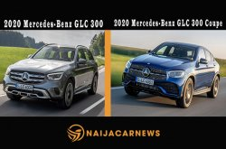First drive comparison of 2020 Mercedes-Benz GLC 300 and GLC 300 Coupe