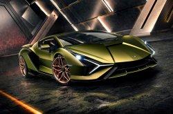 Pricing, photos & details of 2020 Lamborghini Sian hybrid-electric supercar