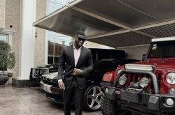 Peter Okoye flaunts exotic cars on the gram, says he's doing better