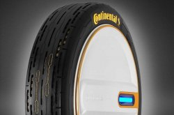 Continental new tire can self-check its health and adjust pressure