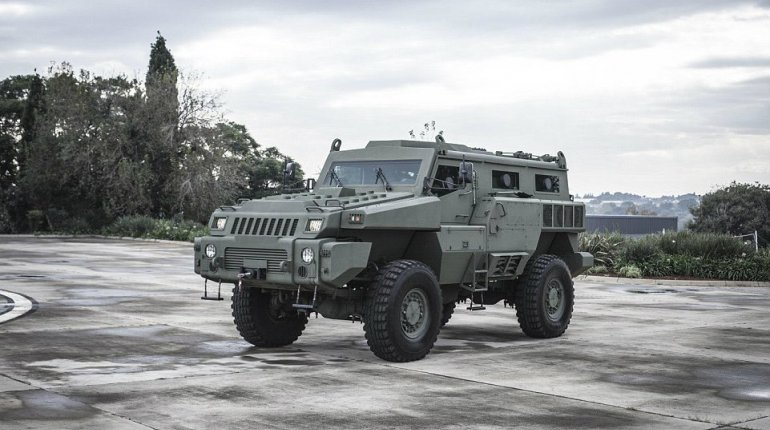 Nigeria Army grabs World's most unstoppable vehicle, the Marauder!