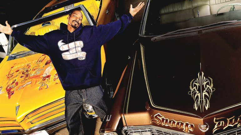 See the incredible customization in Snoop Dogg's car collection!