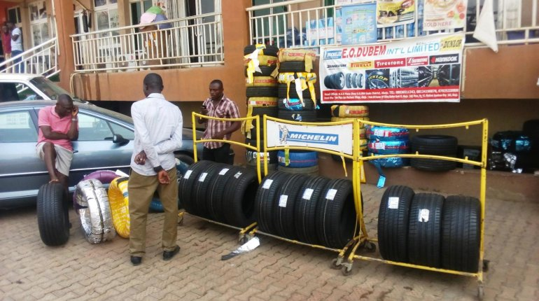 Tyre prices in Nigeria of different brands and models